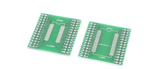 SMD to DIP adapter SSOP56 / TSSOP56