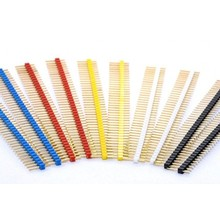 Header Male 1x40 pins in different colors