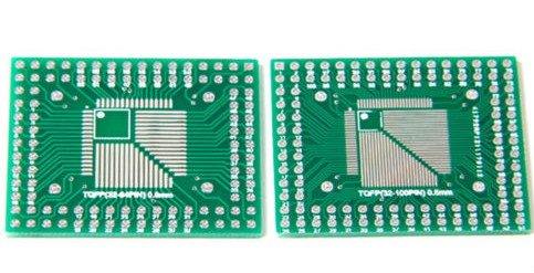 LQFP to DIP pins 32-100