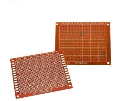 PCB Experiment print Simplex 7x9cm
