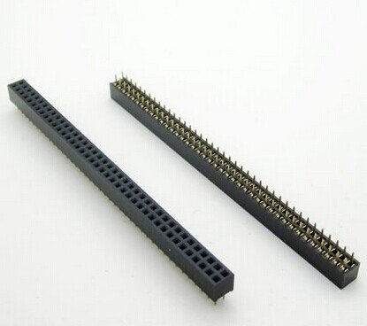 Header Pins 40 pins black