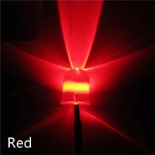 10mm Pre Wired Led Helder Rood
