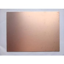 doubleSide 15x20cm 0.8MM FR4 Glass fiber Blank Copper Clad Printed Circuit Board
