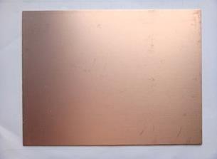 Experimenteer printplaat met koper bekleed dubbelzijdig 15x20cm