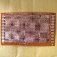 PCB Experimenteer Print Enkelzijdig 9x15cm met banen