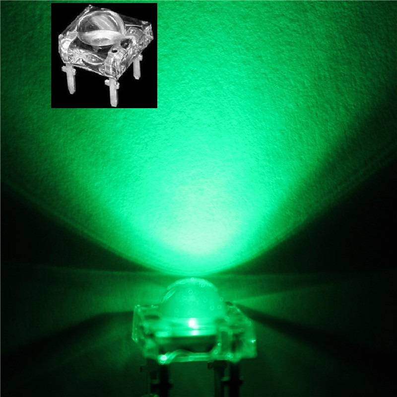 5mm Led Piranha Super Flux Groen
