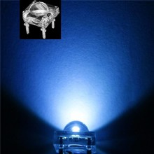 5mm Led Piranha Super Flux Blauw