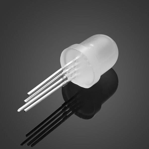 8mm Ronde Led Wit Diffuus RGB voor WS2811
