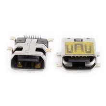 Mini USB type B female 10 pin connector