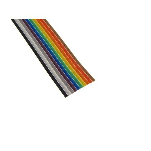 Dupont Cable 10 pin AWG28 1.27 mm 0.50 m