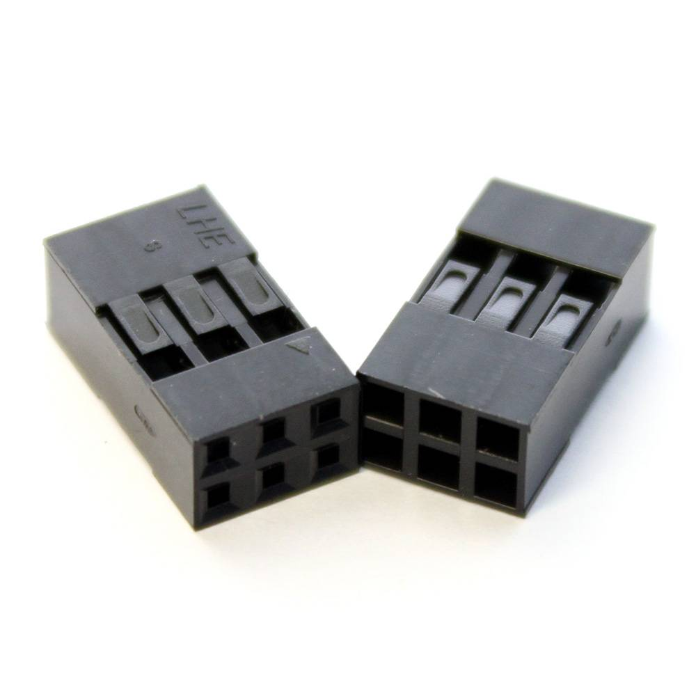 Dupont Connector 2x3pins
