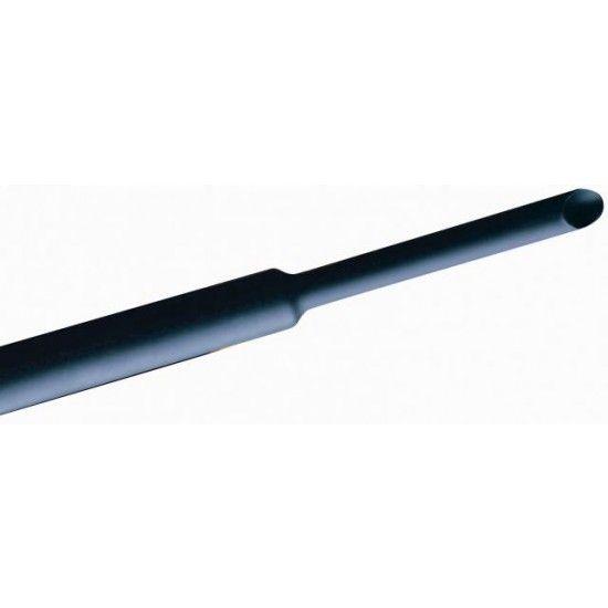 Krimpkous zwart 2,5mm-1,25mm