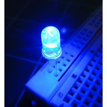 5mm Round Led Blue Clear