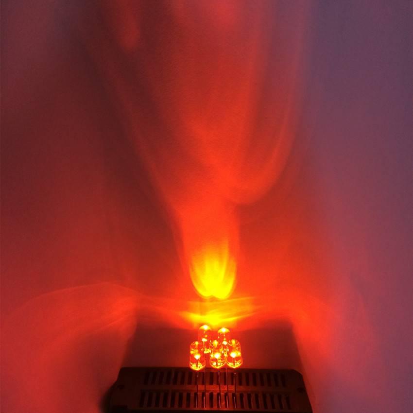 5mm Ronde Led Helder Oranje