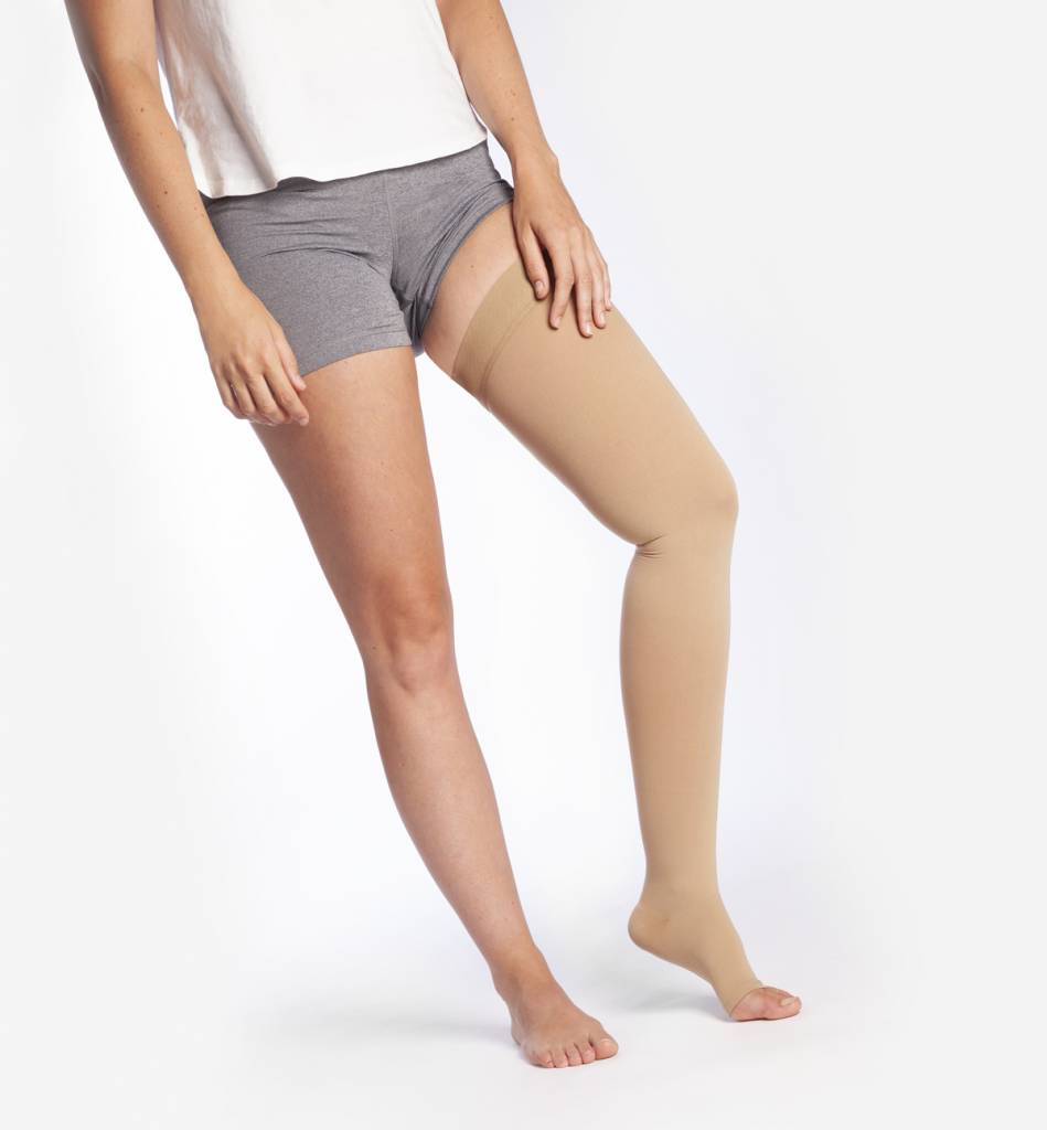 STOX Medical Thigh High Stocking - Sand