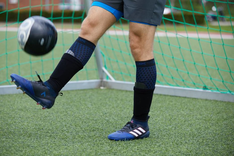 567e257793 STOX Energy Blog - Why wearing football socks with compression is ...
