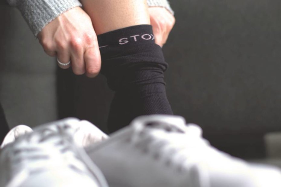 Opgezette benen