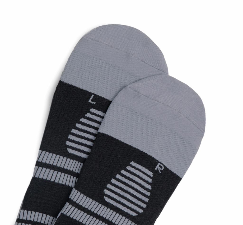 STOX Running Socks Men - Black / Grey