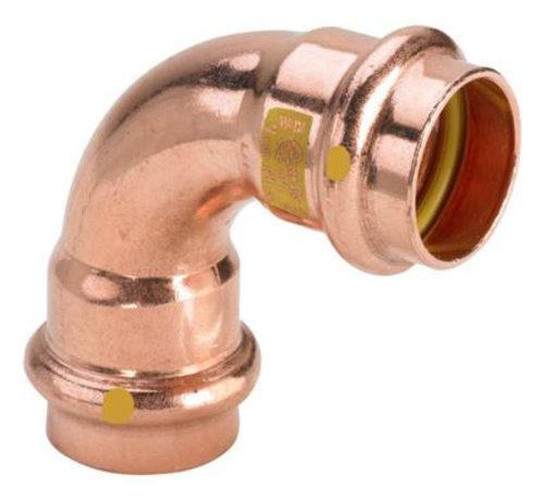 Viega Profipress G bochtkoppeling 90° press persfitting