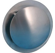 Nedco Plafondrooster rond Rvs 100mm 5941111