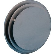 Nedco Plafondrooster rond Rvs 125mm 5945311