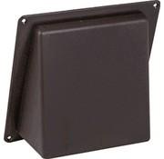 Nedco Schuinekap kunststof 125mm grijs 650205
