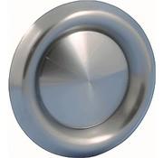 Nedco Afvoerventiel rond 125mm Rvs 590611