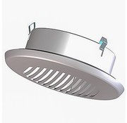 Itho Demandflow luchtafvoer grijs 125mm 302-2310