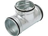 Air spiralo T-stuk Ken-Lok 90 graden 80 tot 500 mm
