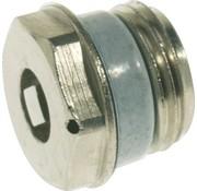 """Simplex Radiator ontluchtingsstop 3/8""""nikkel 3204267"""