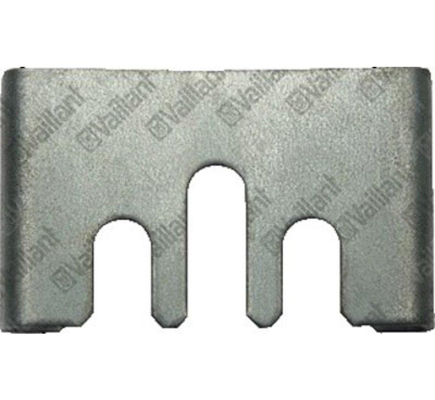 Borgplaat omschakelventiel vc-vcw 154132