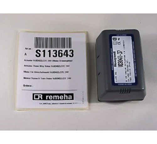 Remeha Actuator 24v S113643