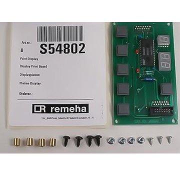 Remeha Print display S54802