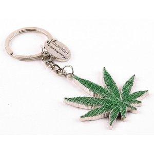 Typisch Hollands Sleutelhanger Cannabis