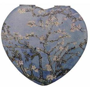 Robin Ruth Fashion Mirror Box Heart Shape Blossom