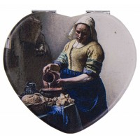 Robin Ruth Fashion Mirror Box Heart Shape Milkmaid
