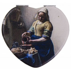 Robin Ruth Fashion Mirror Box Heart Shape Milkmaid