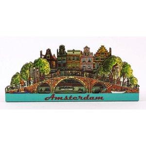 Typisch Hollands Magneet 2D brug Amsterdam