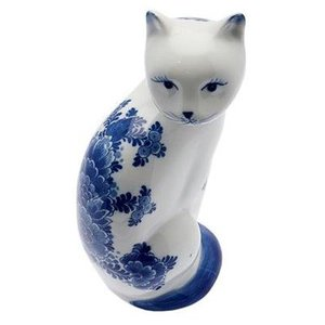 Typisch Hollands Delft Blue Cat