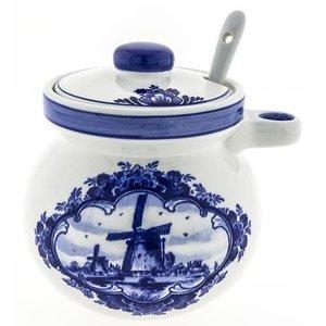 Typisch Hollands Straw pot with spoon