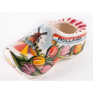 Typisch Hollands Nature of Work Clog Tulips 14 cm