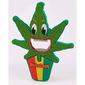 Bottle opener Cannabis Leaf