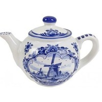 Typisch Hollands Teapot - Delft blue
