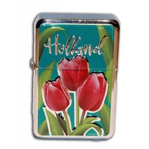 Typisch Hollands Zipper Benzine-aansteker Holland Tulpen
