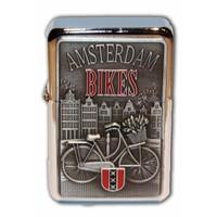 Typisch Hollands Zipper Benzine-aansteker - Amsterdam - Bikes
