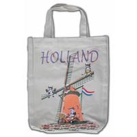 Typisch Hollands Eco linnen Draagtas - Holland - Molens