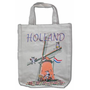 Typisch Hollands Eco Leinentasche - Holland - Mills
