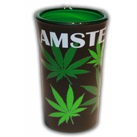 Typisch Hollands Shotglas Cannabis - Amsterdam