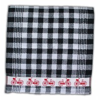 Typisch Hollands Kitchen towel Cycling