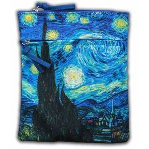 Robin Ruth Fashion Paspoort-tasje van Gogh Sterrenhemel